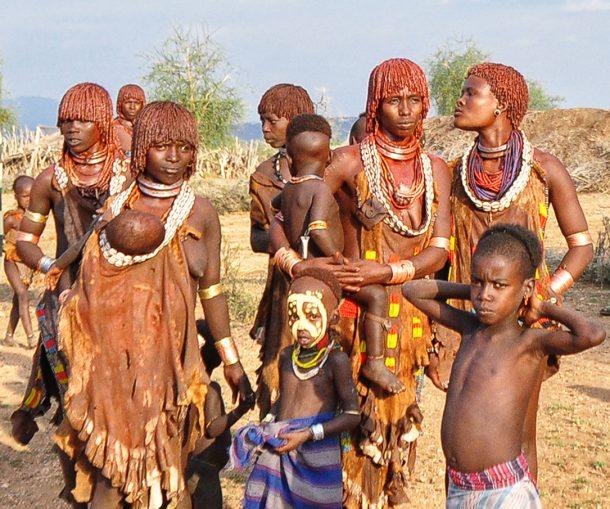 Mujeres Hamer - viaje al sur de Etiopía