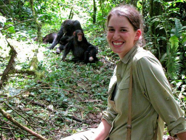 Chimpancés en Kibale - safari por Uganda