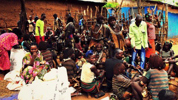 Mercado de Key Afer - viaje al sur de Etiopía