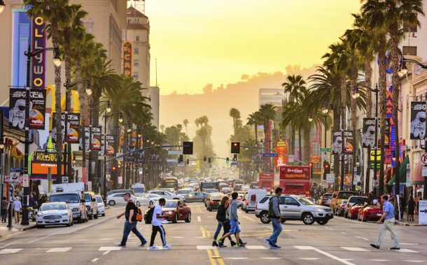 Hollywood Boulevard, Los Ángeles - Parques del Oeste de Estados Unidos