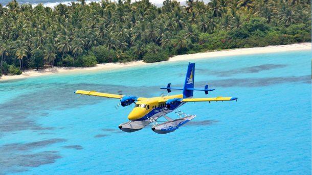 Hidroavión - viajes a Maldivas