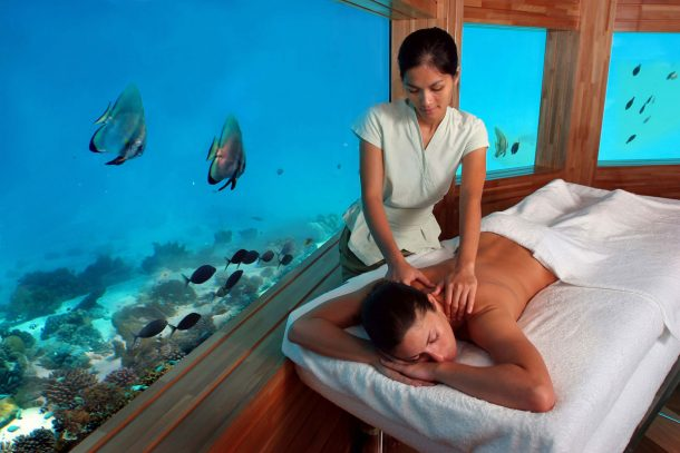 Spa submarino - viajes a Maldivas