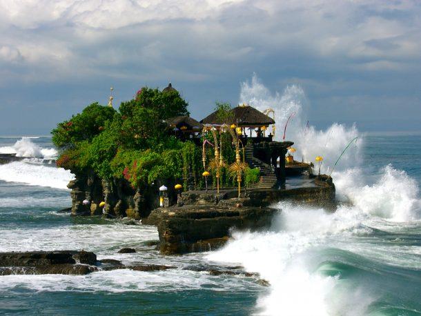 Templo de Tanah Lot - viaje a Bali y Java