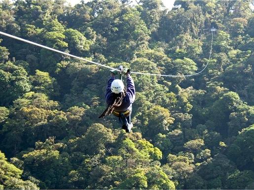 Canopy Tour de Selvatura Park-Monteverde
