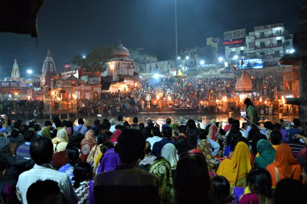 Haridwar-Ceremonia Aarti