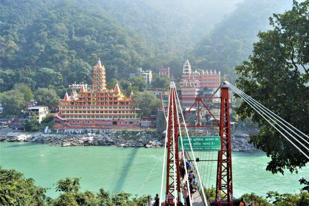 Rishikesh-yoga en la India más espiritual