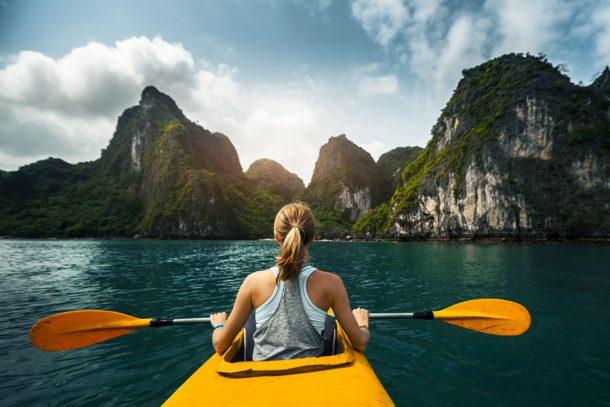 Kayak Bahía de Ha Long-Vietnam aventurero