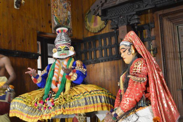 Danza Kathakali-Cochin