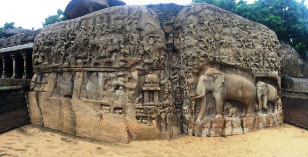 El descenso del Ganges-Mahabalipuram