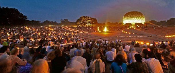Matrimandir-Auroville Ashram