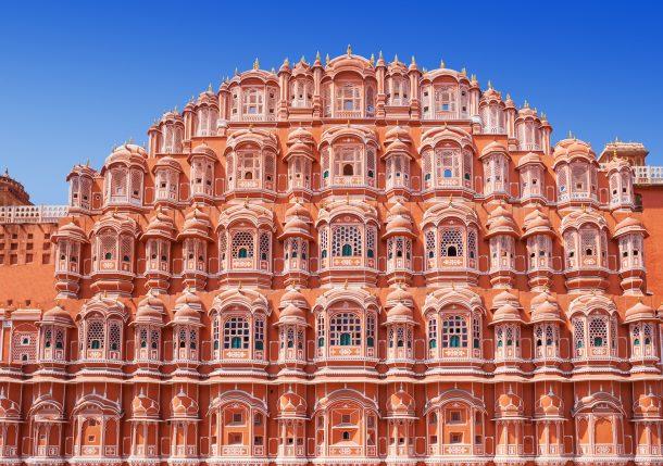 Palacio de los vientos-Jaipur