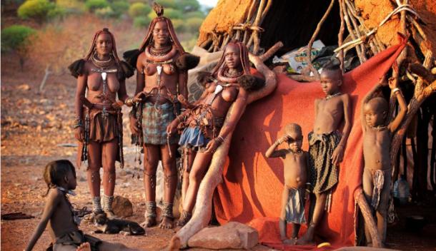 Poblado Himba - Viaje a Namibia