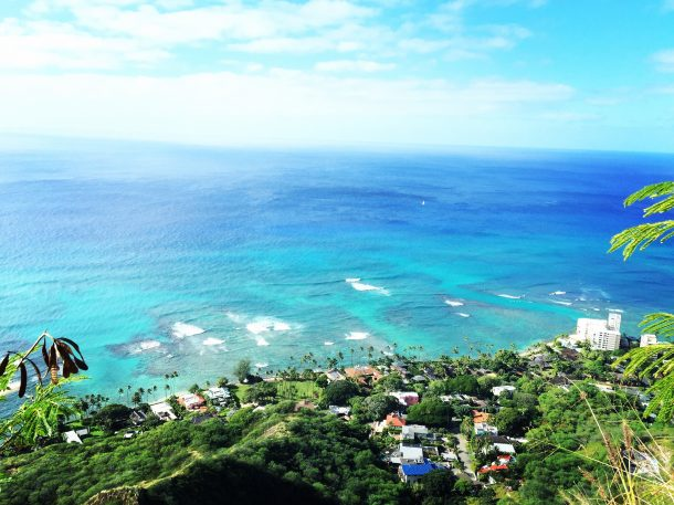 Waikiki-Oahu-exuberantes islas hawaii