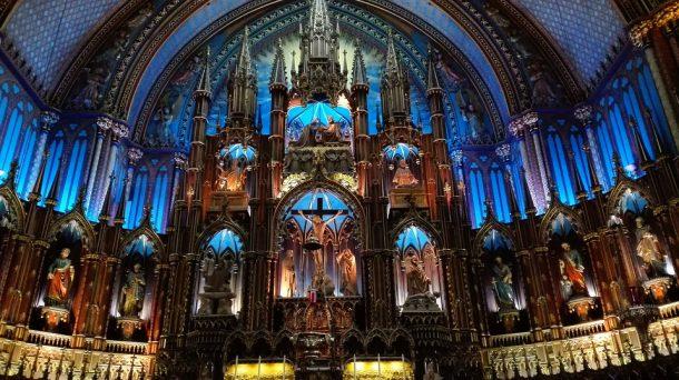 Basílica de Notre Dame de Montreal-canada-invernal-con-niagara