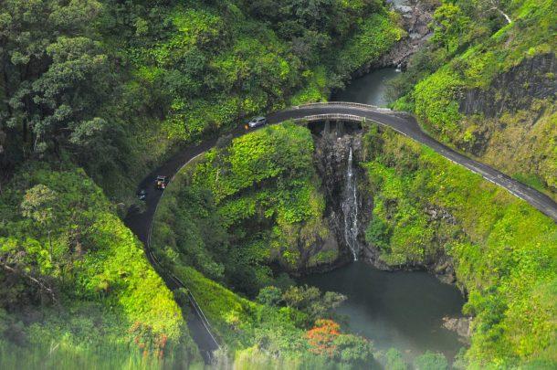Carretera de Hana-Maui