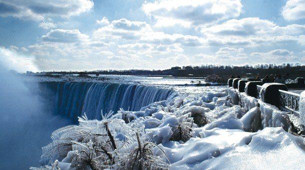 Cataratas Niágara en invierno
