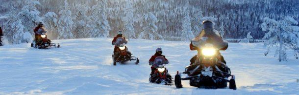 Motonieve St Alexis-invierno activo en canada