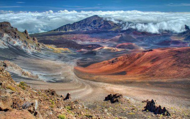 Parque Nacional de Haleakala-Maui-exuberantes islas hawaii
