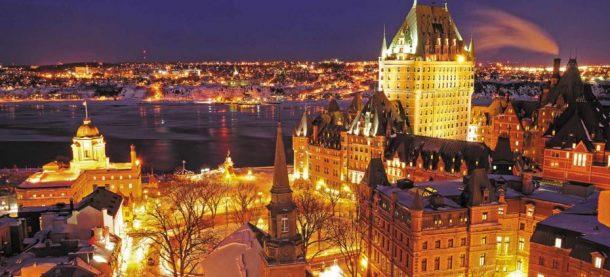 Quebec-invierno activo en canada