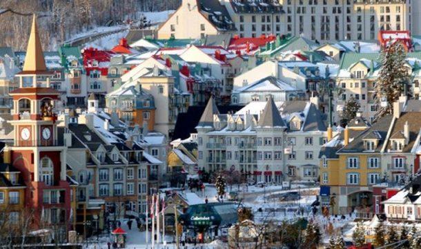 Tremblant invierno-canada invernal con niagara