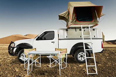 4x4 equipado - viaje a Namibia