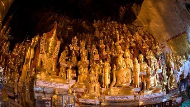 Cueva de Pindaya-maravillas de myanmar
