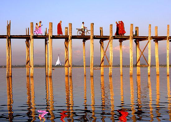 Puente de U Bein-Myanmar a tu aire