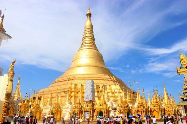 Shwedagon Pagoda-maravillas de myanmar