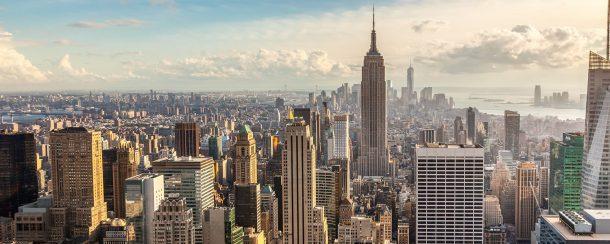 Skyline Nueva York-encantos del este de estados unidos y canada