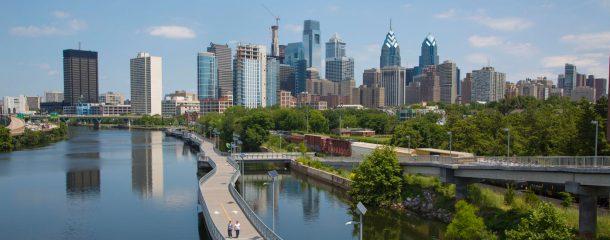 Skyline Philadelphia-joyas del este