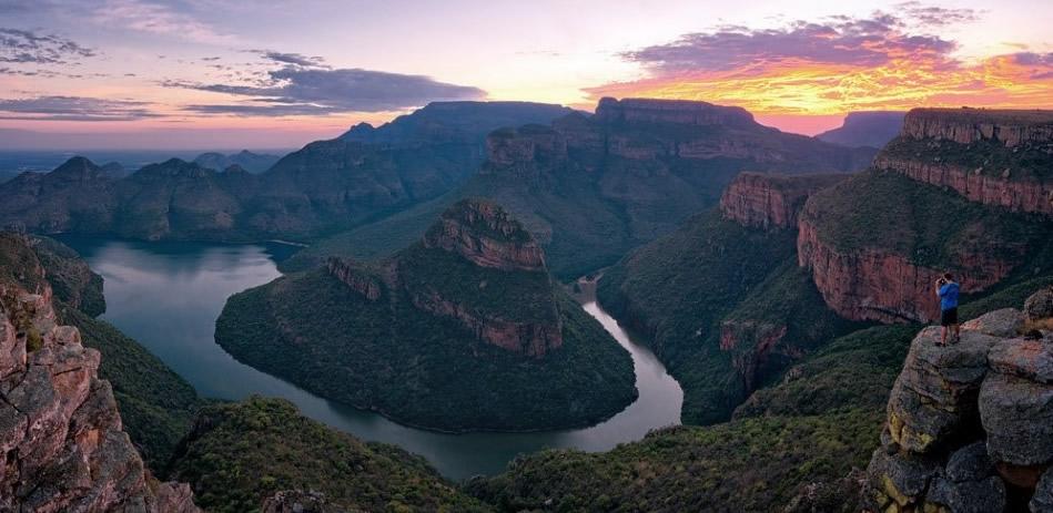 Cañón del río Blyde - Viaje al sur de África