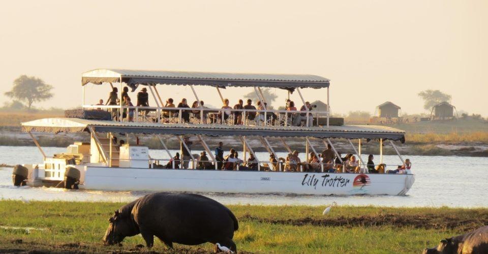 Crucero rio Chobe - Viaje al sur de África