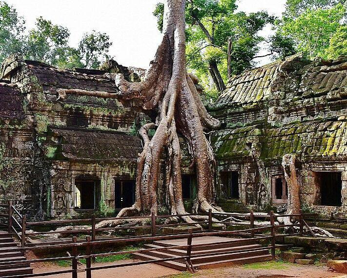 Templos de Angkor-circuitos por Camboya
