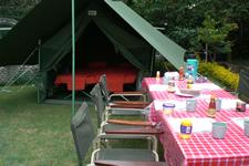 Campamento básico - safari en Kenia