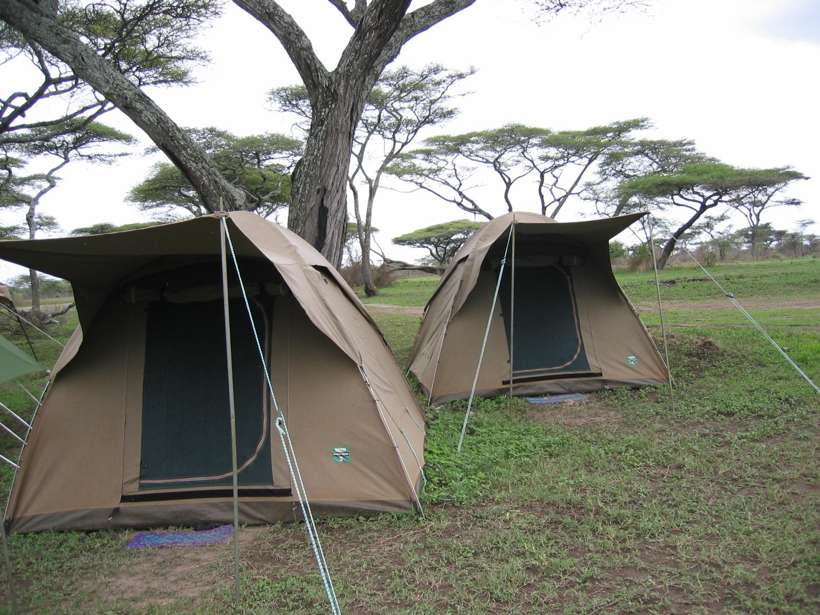 Viaje a Tanzania - Campamentos básicos