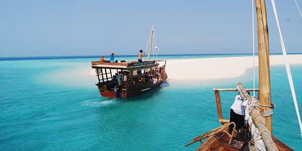Viaje a Zanzibar - Safari blue